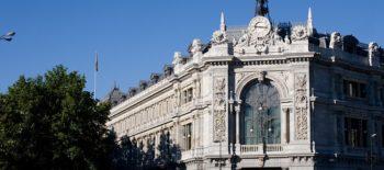 Sede del Banco de España en Madrid. BANCO DE ESPAÑA