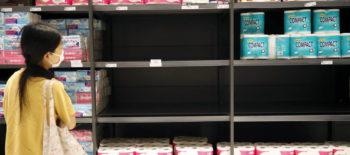 Papel higiénico en un supermercado. (Reuters)